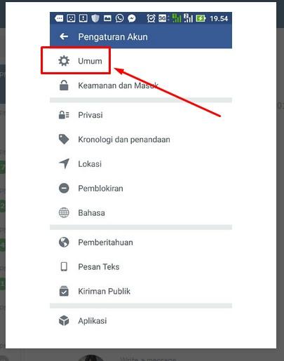 cara cek email facebook
