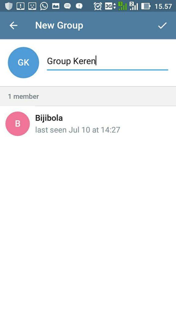 cara membuat gropu di telegram