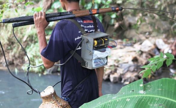 Setrum Ikan Pakai Relay Aneka Cara