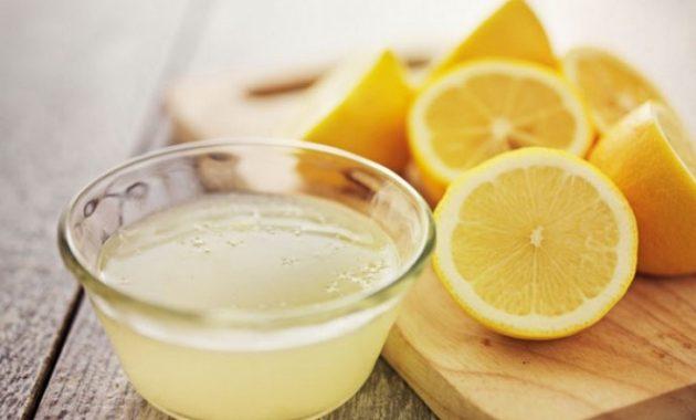 Air perasan lemon untuk memutihkan gigi