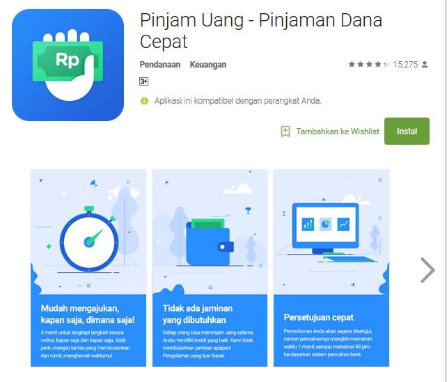 aplikasi online Pinjam Uang - Pinjaman Dana Cepat - Aneka Cara