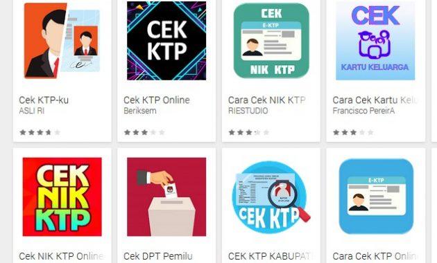 Aplikasi cek e KTP